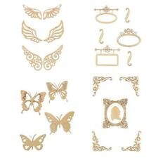 Butterfly Unfinished Wood Shape Craft Supply Laser Cut DIY Home Decor Scrapbook