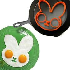 Silicone Egg Fried Oven Pancake Mould Poach Ring Kitchen Tool