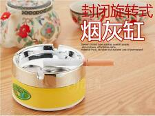 Creative and practical fashion stainless steel inner ashtray with a lid
