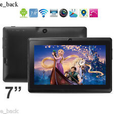 "7"" HD Bluetooth Quad Core Tablet PC Touch Screen Android 4.4 WIFI 8GB ROM free"