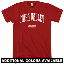 Napa Valley California T-shirt - Men S-4X - Gift County Wine Country Winery Wine