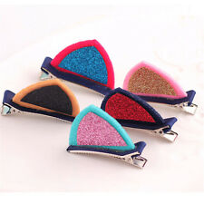 1 Pair Cat Ear Hairpins Hair Clip Pin Cosplay Ears Fancy Dress Costume Girls Kid