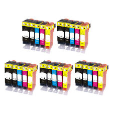 5 SET Premium  CHIPPED Ink Cartridge Replace for Canon Pixma Printer