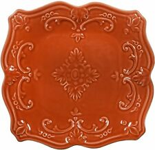 Terracotta Fancy Scroll Dinnerware and Serving Pieces