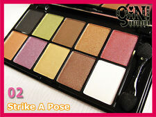 NYX 10 Color Eyeshadow Palette  ESP10C 02 Strike A Pose
