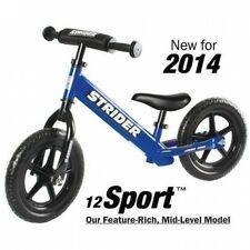 Strider Sports Boy's 30cm Sport No-Pedal Balance Bike. Brand New
