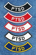 1 PTSD SERVICE DOG ROCKER PATCH Danny & LuAnns Embroidery  assistance