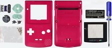 Game Boy Color [GBC] Replacement Case/Shell/Housing [Red Berry]