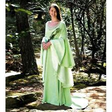 Elven Fantasy Wedding Dress. Perfect for Re-enactment, Stage, Costume and LARP