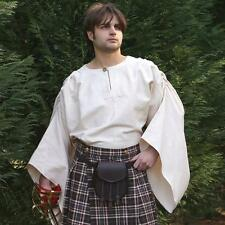 Scottish - Highlands Shirt - Perfect For Re-enactment Stage Costume or LARP