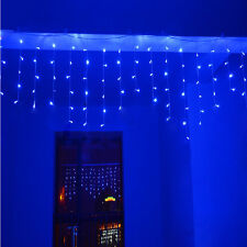 5-25M Waterfall Icicle Multi Function Fairy String Lights Hanging Christmas Xmas