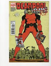 Deadpool Corps #12 Skottie Young variant RIP 2010 Marvel Comic VF/NM