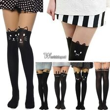 Sexy Fashion Pantyhose Design Pattern Printed Tattoo Stockings Tights WT88