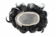 New MAJIK Full Swiss Lace 100% Real Human Hair Replacement System Men's Toupee