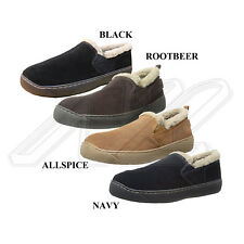 NIB Tamarac Men's 814104 Arthur Sheepskin Shearling Wool Lined Slide Slippers
