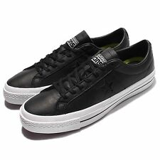 Converse CONS One Star Leather Black White Mens Casual Shoes Sneakers 153714C