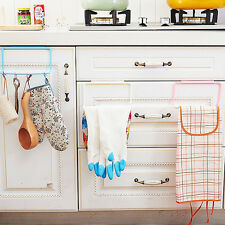 Hanging Holder Organizer Bathroom Kitchen Cabinet Cupboard Towel Rack Hanger