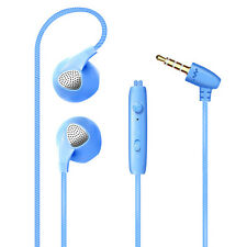 Universal Headphones In-Ear Noise Cancelling Sweatproof Headsets with Microphone