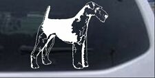 Airedale Terrier Decal Car or Truck Window Laptop Decal Sticker Dog 6X5.2
