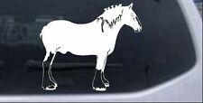 Clydesdale Horse Car or Truck Window Laptop Decal Sticker Western 6X6.9