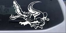 Snapping Gator Decal Car or Truck Window Laptop Decal Sticker Alligator 8X5.9