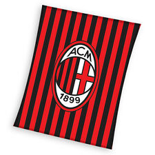 AC Milan FC Football Fleece Blanket Fleece Blanket AC Milan Football Club Milano