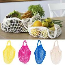 Reusable String Shopping Grocery Bag Shopper Tote Net Cotton Bag Handbag 4 Color