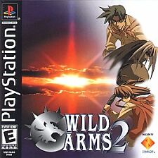 Wild Arms 2: Second Ignition (Sony PlayStation 1, 2000)