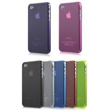 Transparent Hard Skin Back Case Cover Protector For Apple iPhone 4S 4 3G 4G LTE