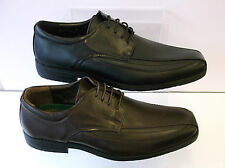 Mens Black / Brown Lace Up Malvern Shoes UK Sizes 7 - 11 A2103