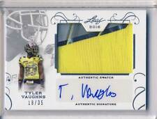 2016 Leaf Army TYLER VAUGHNS Jersey Patch Autograph Auto 18/35 USC #TV1