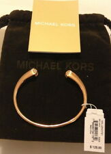 NWT $125 Michael Kors Pavе Pyramid Cuff Bracelet Rose Gold-Tone or Silver-Tone