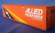 Allied Pickfords Shipping Container for HO and N scale Railway Model Trains