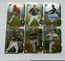 2015 BOWMAN CHROME PROSPECT BASE CARD #BCP151 TO #BCP250- COMPLETE YOUR SET.
