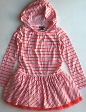 NWT Gap I WANT CANDY Striped Drop Waist Tulle Hooded Hoodie Dress XL 12 ~ CUTE