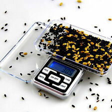 New 200g x 0.01g Pocket Digital Scale Jewelry Gold Herb Balance Weight Gram LCD