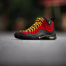NIKE AIR BAKIN SZ 8 TIM HARDAWAY BLACK RED October Max 1 Miami Heat 90 95 97 97