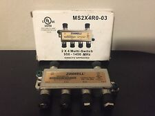 DirecTV Zinwell 2X4 Multi-Switch MS2X4R-03 950-1450 MHz