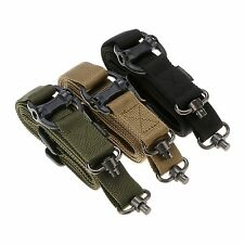 Adjustable Tactical ACU one Single 1 Point bungee Airsoft Sling Strap For Gun