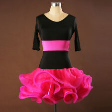 NEW Women Latin Dance Dress Chacha Salsa Rumba Samba Ballroom Competition L053