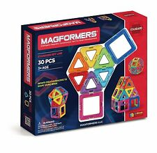 Magformers Standard Set - Intelligent Magnetic Construction Toy for Kids