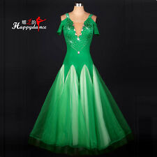 Women's Waltz Latin Tango Rhythm Ballroom Competition Diamond Dance Dresses M052