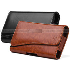New Luxury Leather Belt Clip Carrying Pouch Holster Case for APPLE IPHONE 7 PLUS