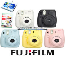 Fujifilm Instax Mini 8 Instant Film Camera White Yellow Black Pink Polaroid InUS