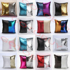 Sequin Mermaid Sofa Bed Cushion Cover Pillow Cases Pillow Core Filler inserts BO