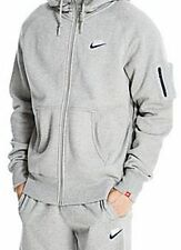 Nike Mens Tracksuit Fleece Foundation 2 Hoody & Jogging Bottoms Grey Size UK S