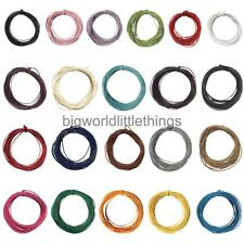 2mm Waxed Nylon Cord Jewellery Making String Findings 10m