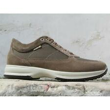 Scarpe Enval soft man 58903 00 Sneaker Suede Made in Italy Turtle dove color