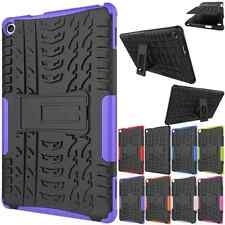 Rugged Hybrid Armor Hard Slim KickStand Case Cover For Amazon Kindle Fire HD 8""