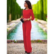 Women Sexy Club Rompers Jumpsuits Ladies Backless Formal Party  Bodysuit